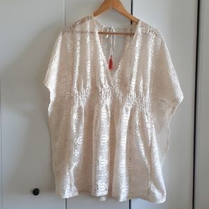 XL Swimsuit lace Cover Up